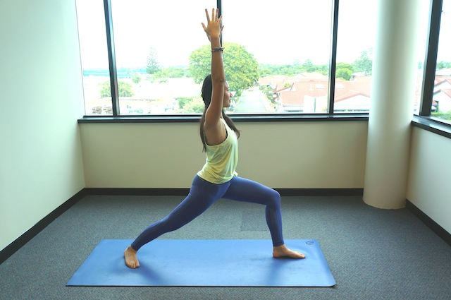 POSE OF THE MONTH: WARRIOR I