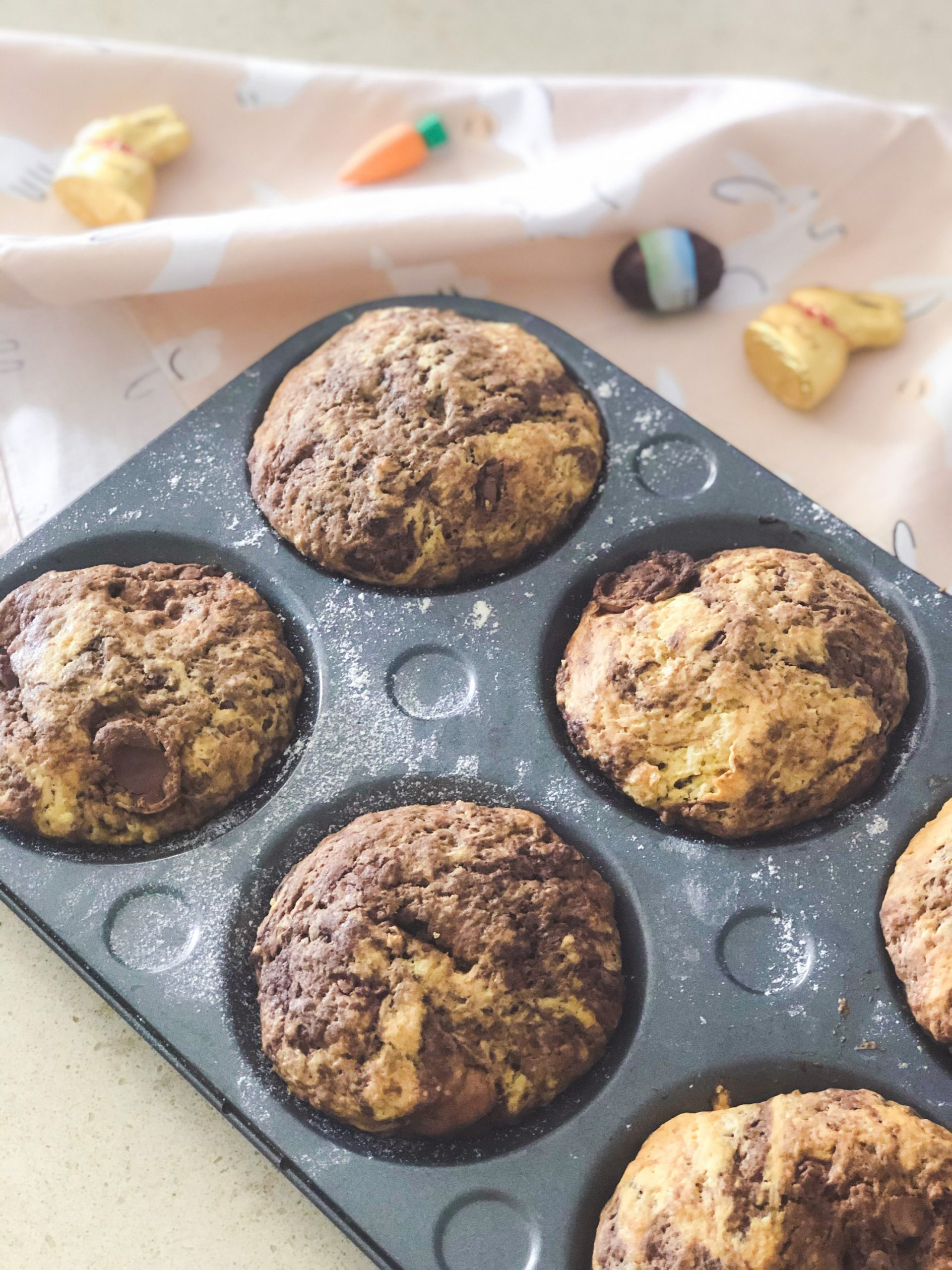 EASTER EGG MUFFIN COOKIES