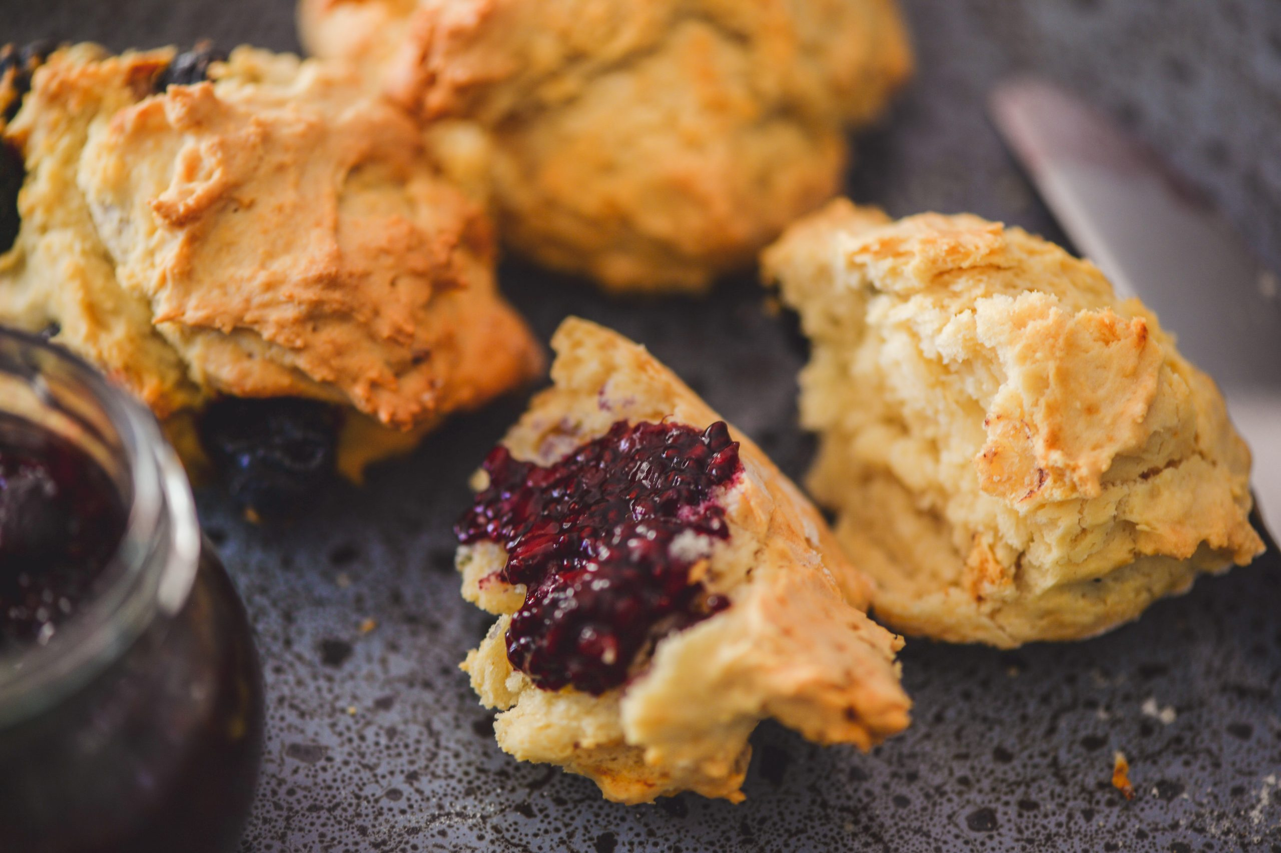 BLUEBERRY & PUMPKIN SEED SCONES